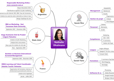 Mind Mapping CV