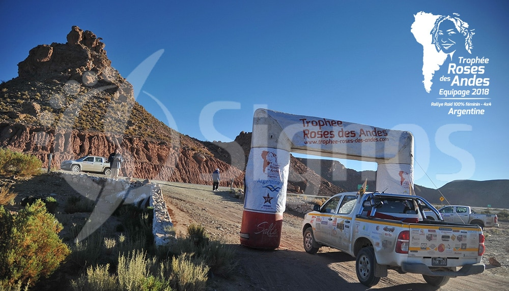 Rallye Roses des Andes Signos