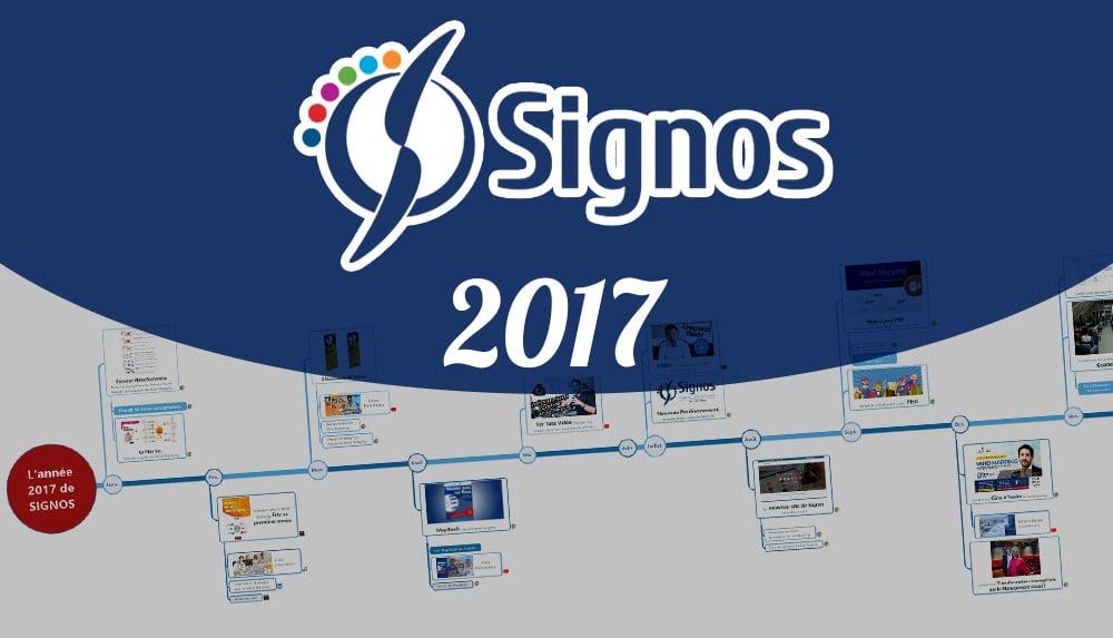 TimeLine de l'année 2017 de Signos