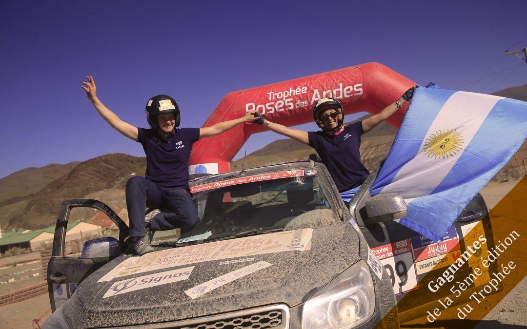 Nous avons gagné le Rallye Roses des Andes !!!