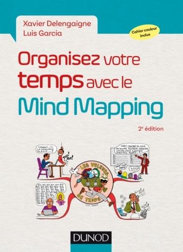 couverture livre Organisez votre temps avec le mind mapping